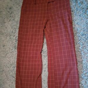 Brown Maurice's wide leg dress pants size 15